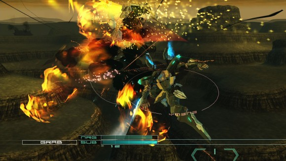 Gameplay from Zone of the Enders 2: The Second Runner.