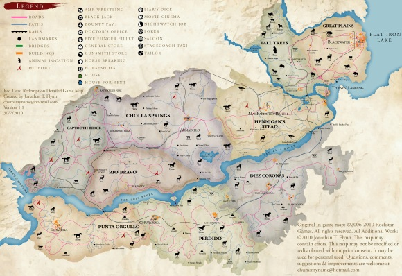 Detailed RDR Map